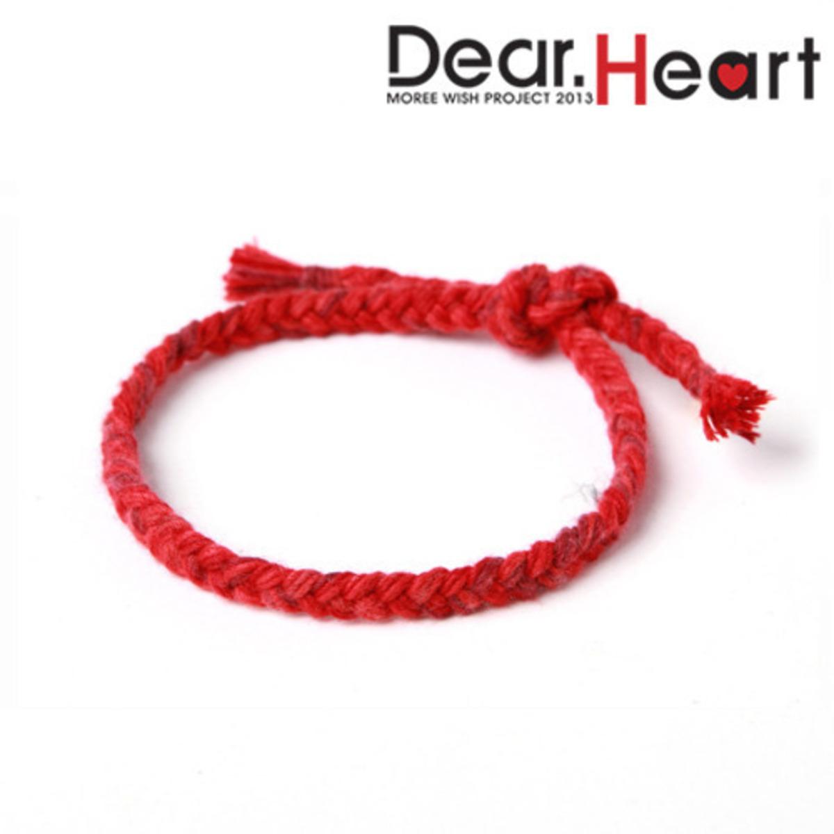 희망나눔프로젝트 Dear. Heart 심장병어린이 후원팔찌 - 모리, 15,000원, 팔찌, 패션팔찌